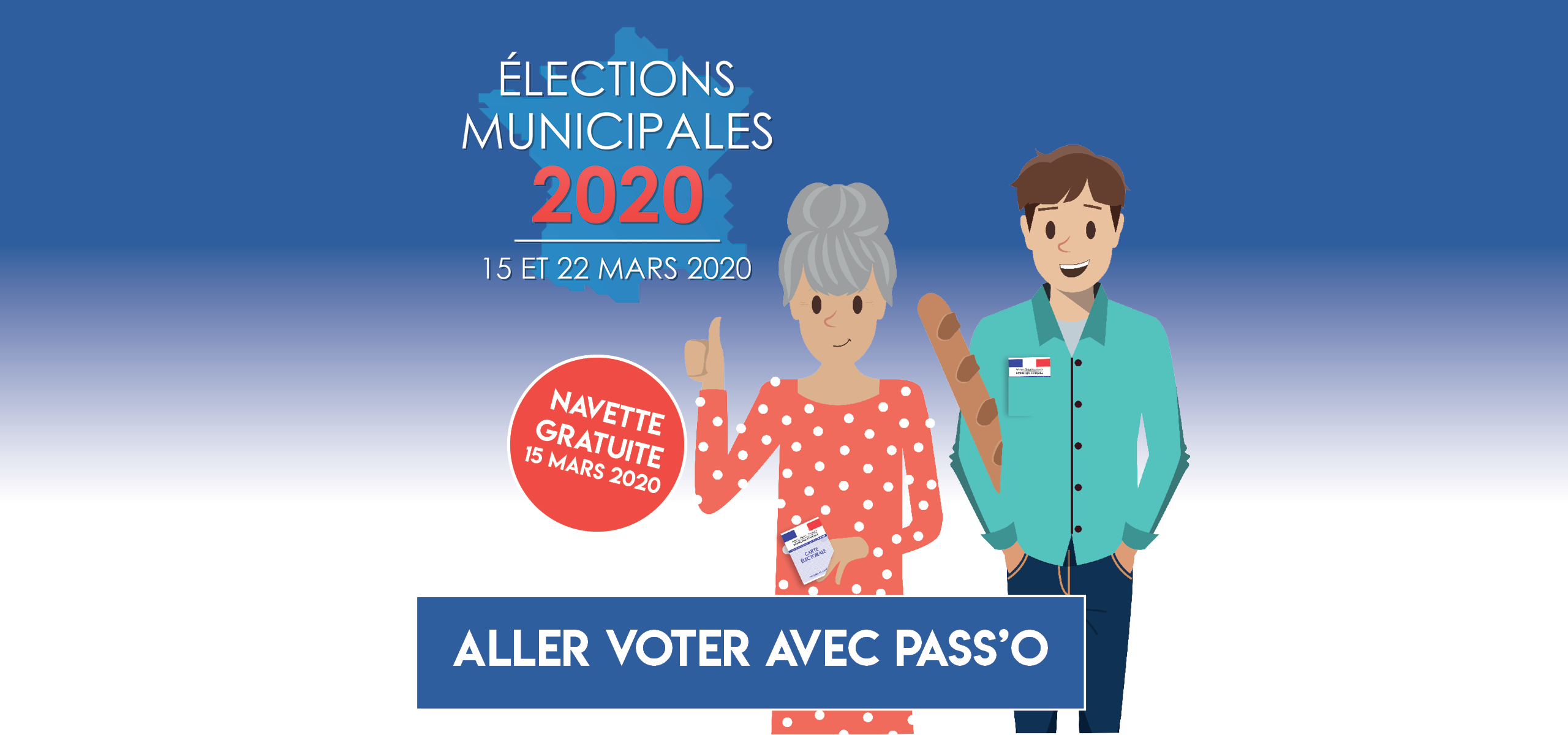 Pass'O vous emmène voter !