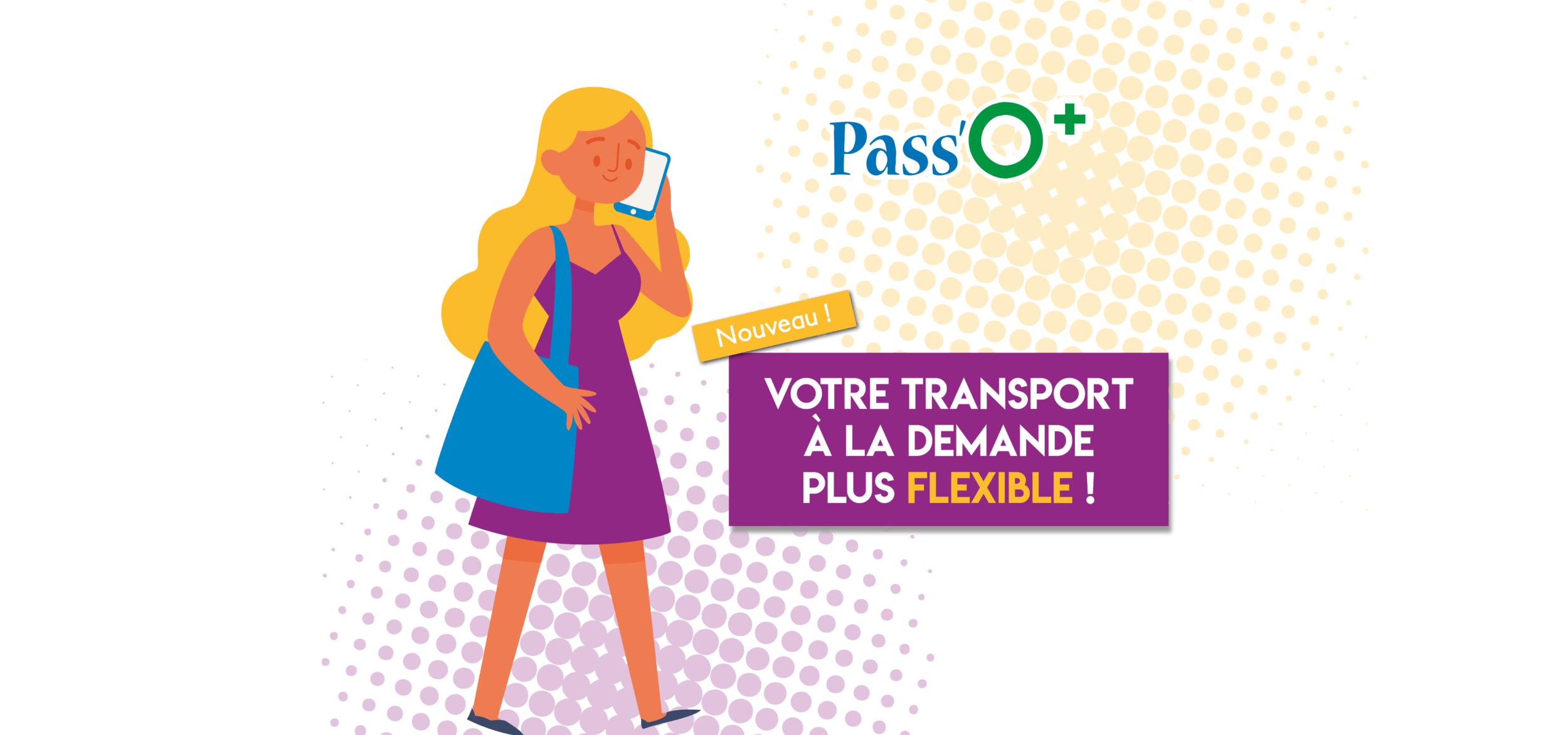 Votre transport à la demande gagne en flexibilité !